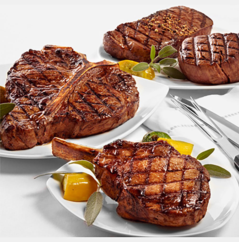 Meat Perfect Temp_Crosshatched Steaks