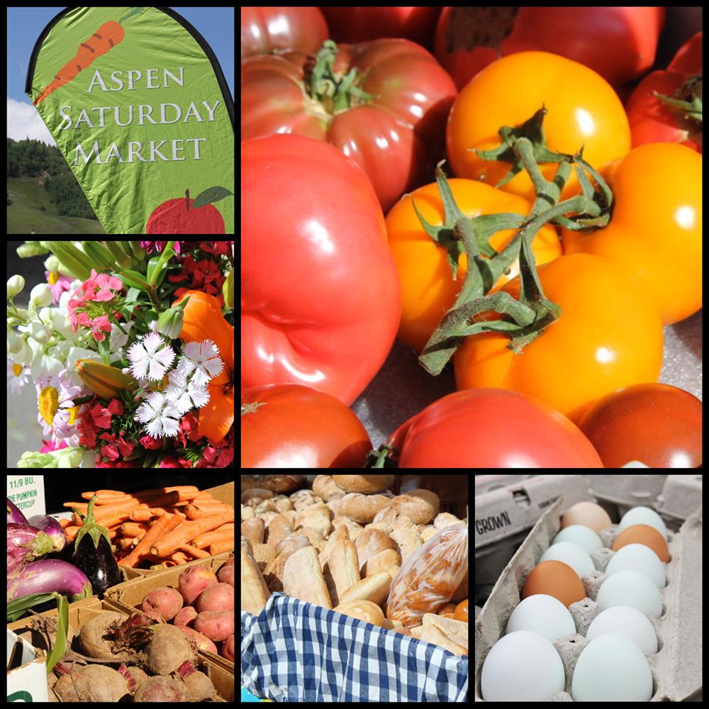Fresh flower, heirloom tomatoes, freshly baked bread and farm fresh eggs.