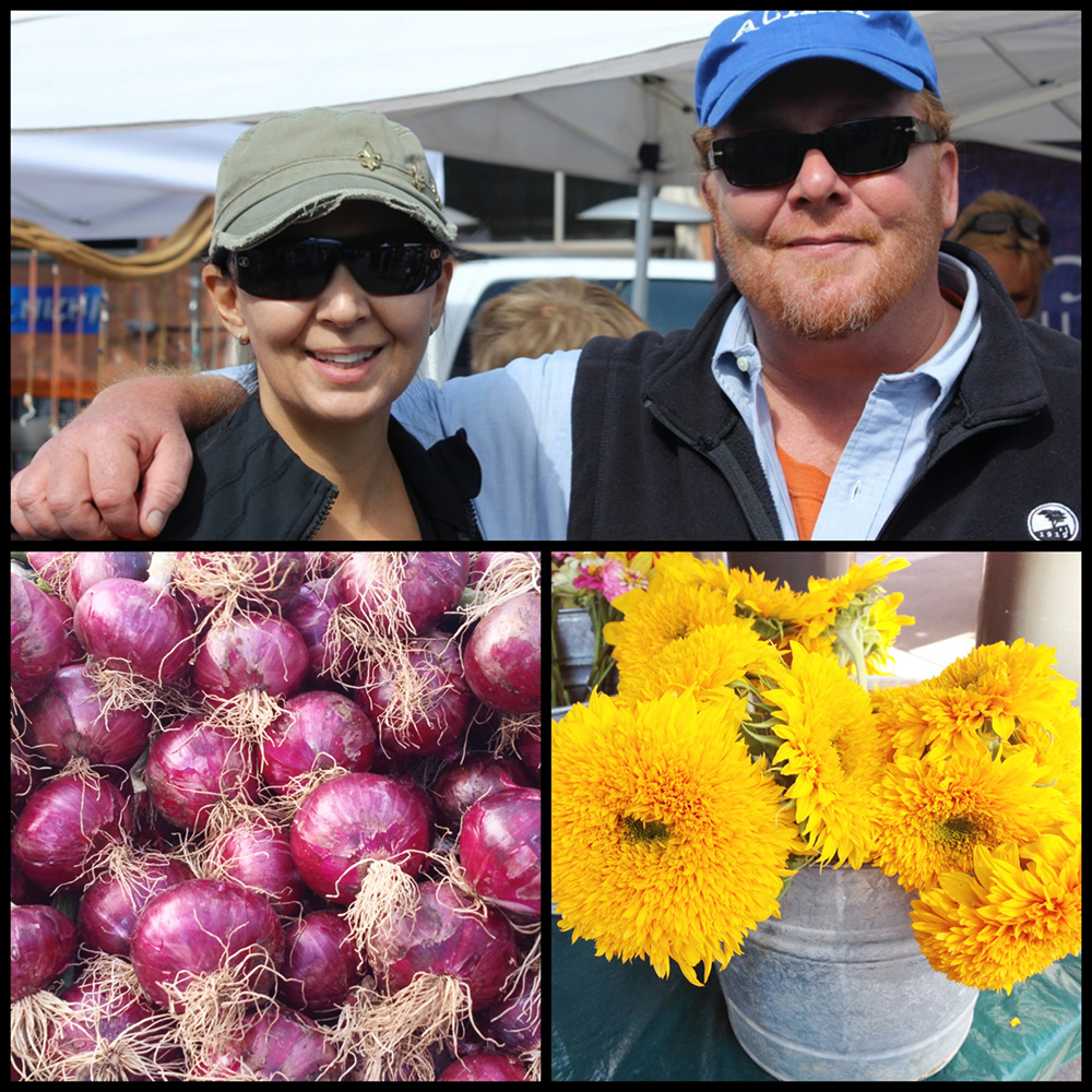 A perfect Saturday at the market with Mario Batali