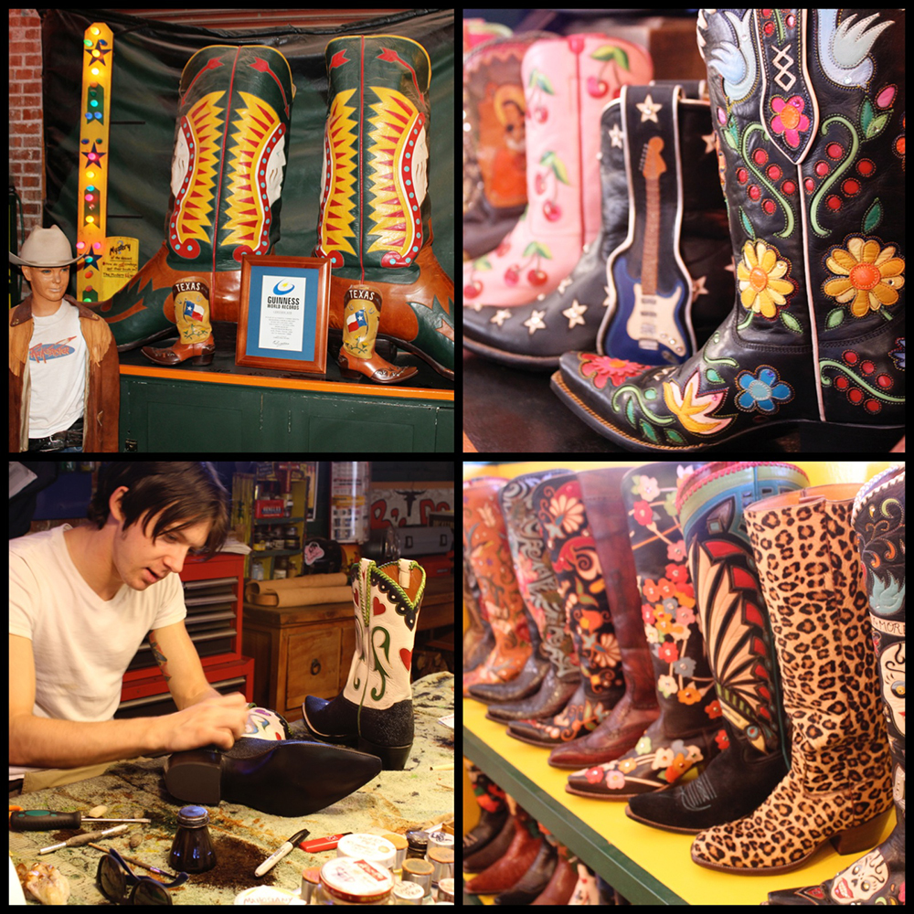 "Guinness Book of World Record's ""World Largest Boots""...Be Inspired, Be Very Inspired...Happy boot artisans making gorgeous boots..."