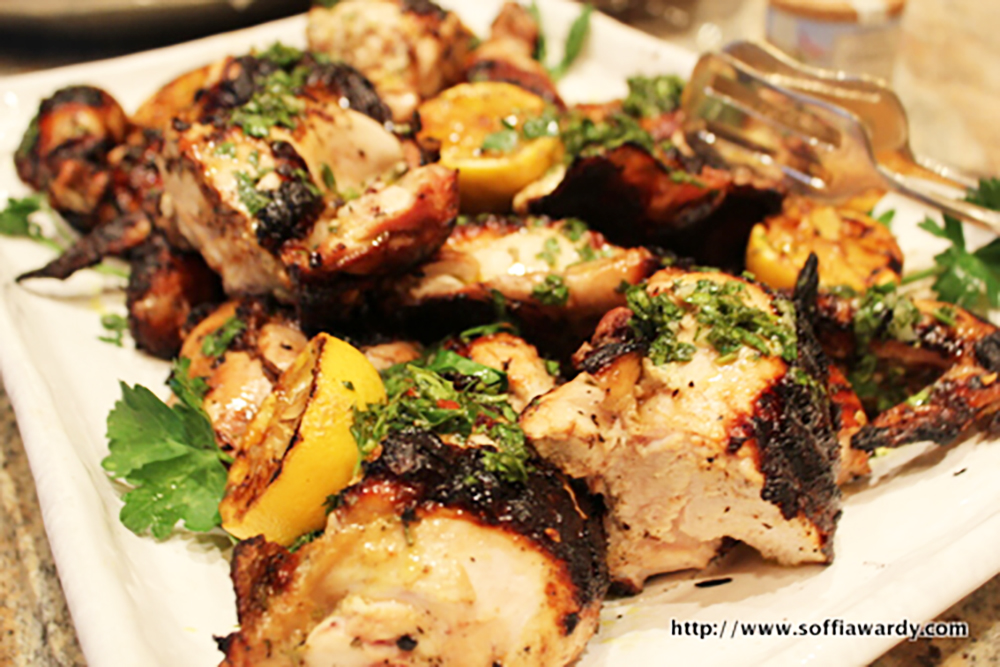 Tuscan Chicken-Cut Up