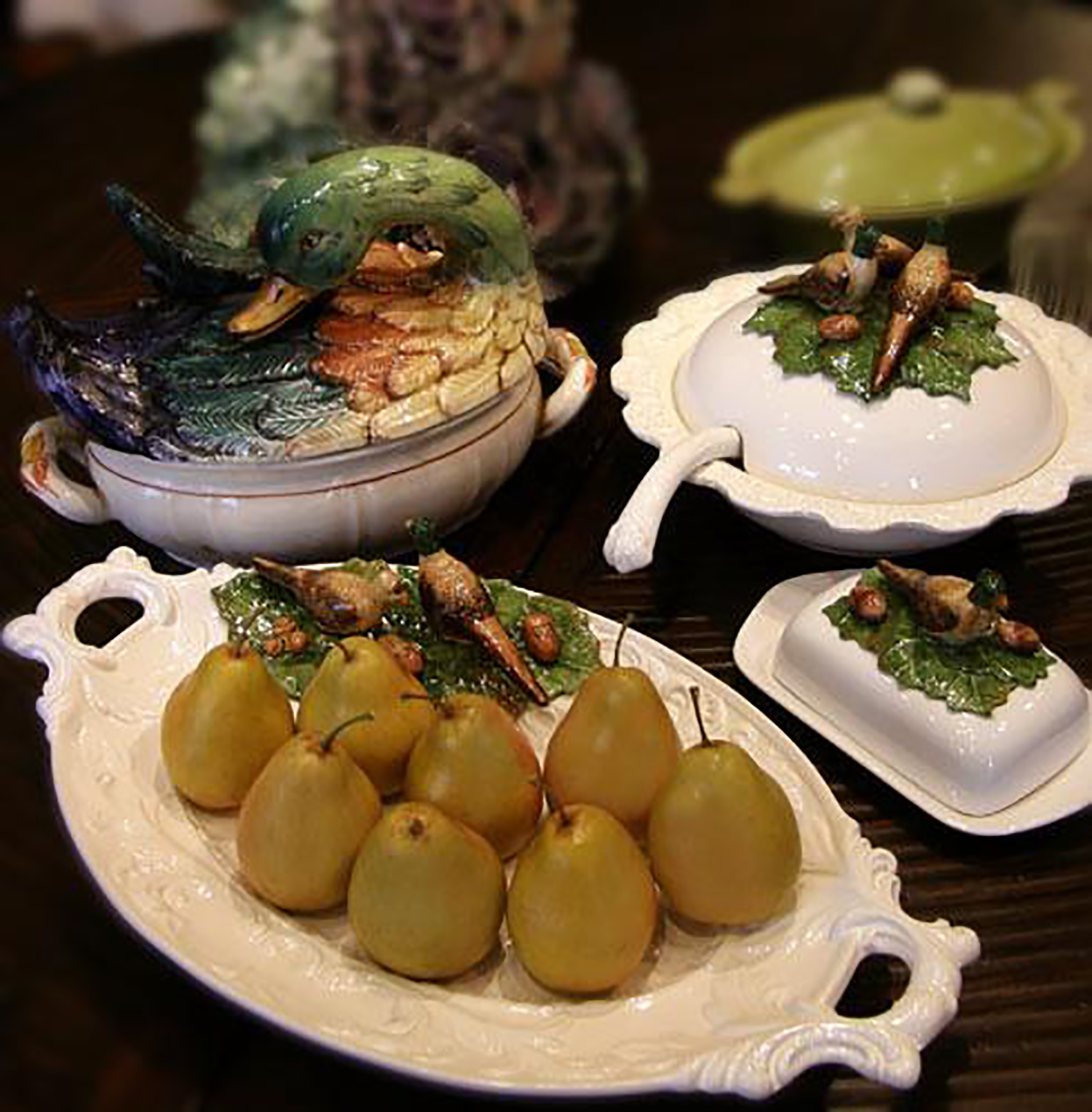 Gathering of Thanks-Pears