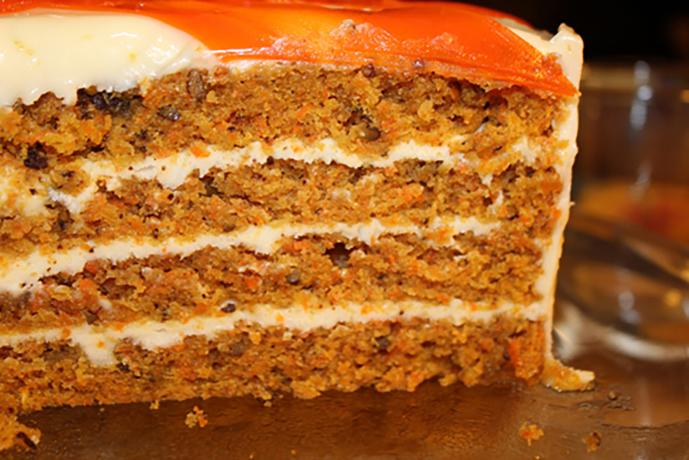 Carrot Cake Sliced