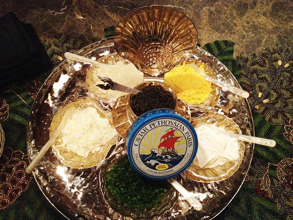 Caviar Service 3