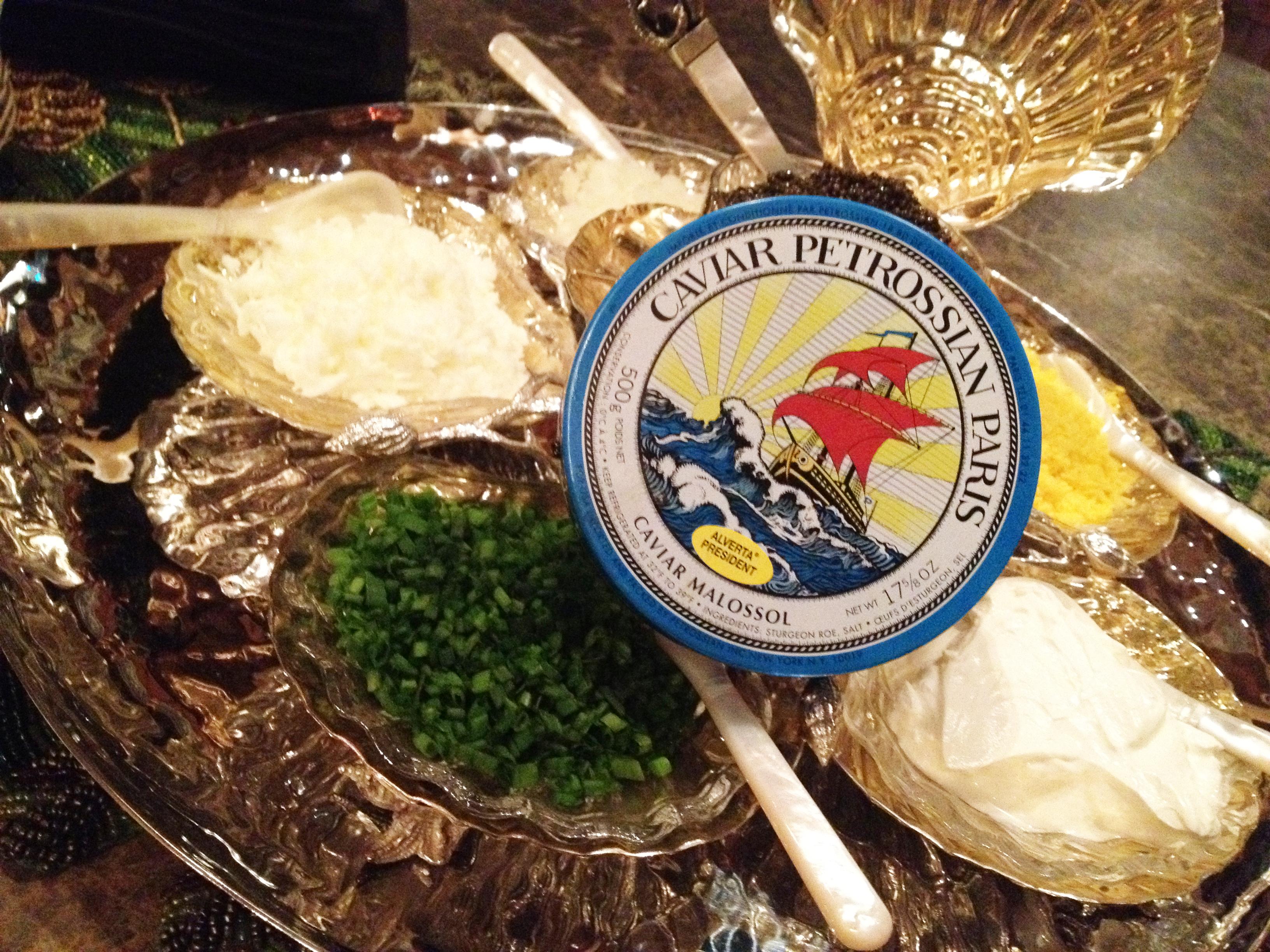 Caviar Service 4