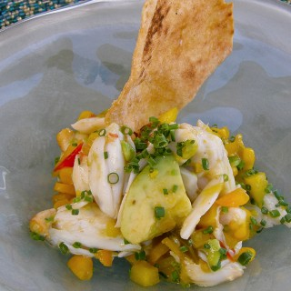 Blue Lump Crab-Corn Salad