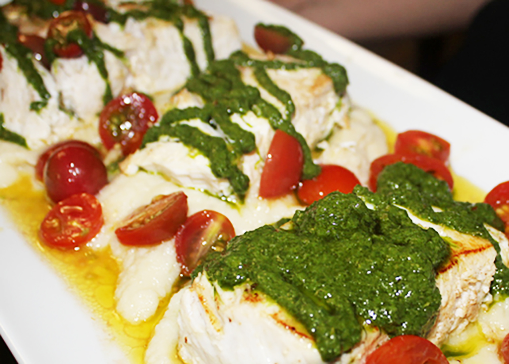 Mahi-Salsa Verde