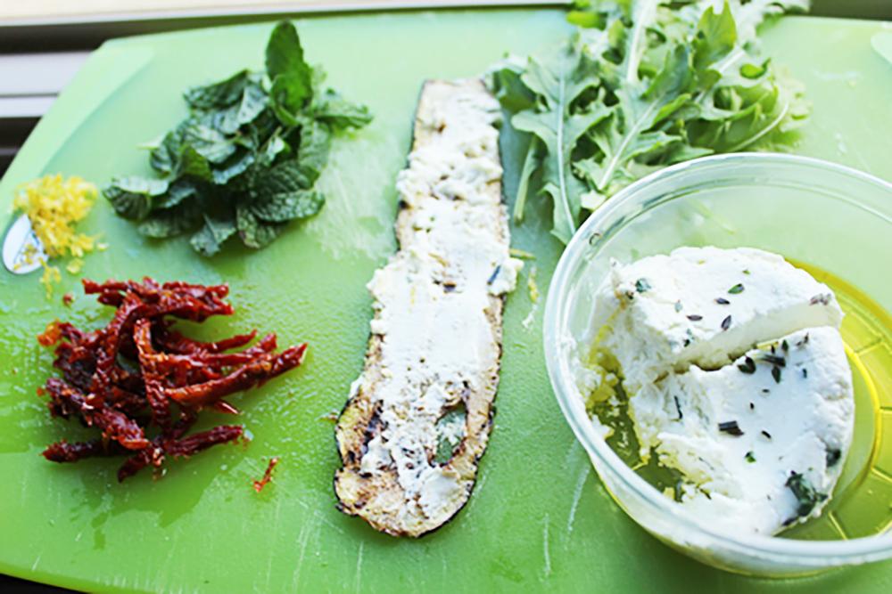 Zucchini Roll Ups-Prep