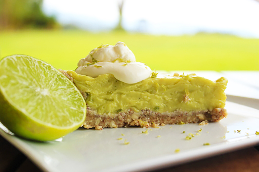 Avocado Lime Pie