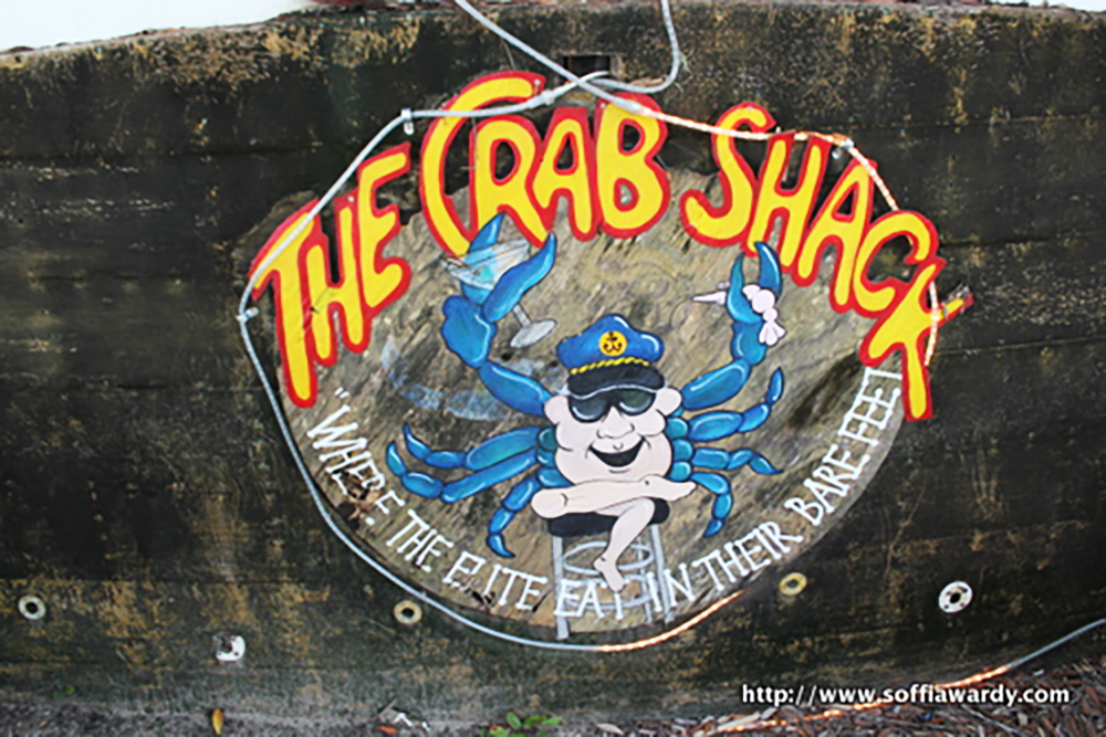 Crab Shack Sign
