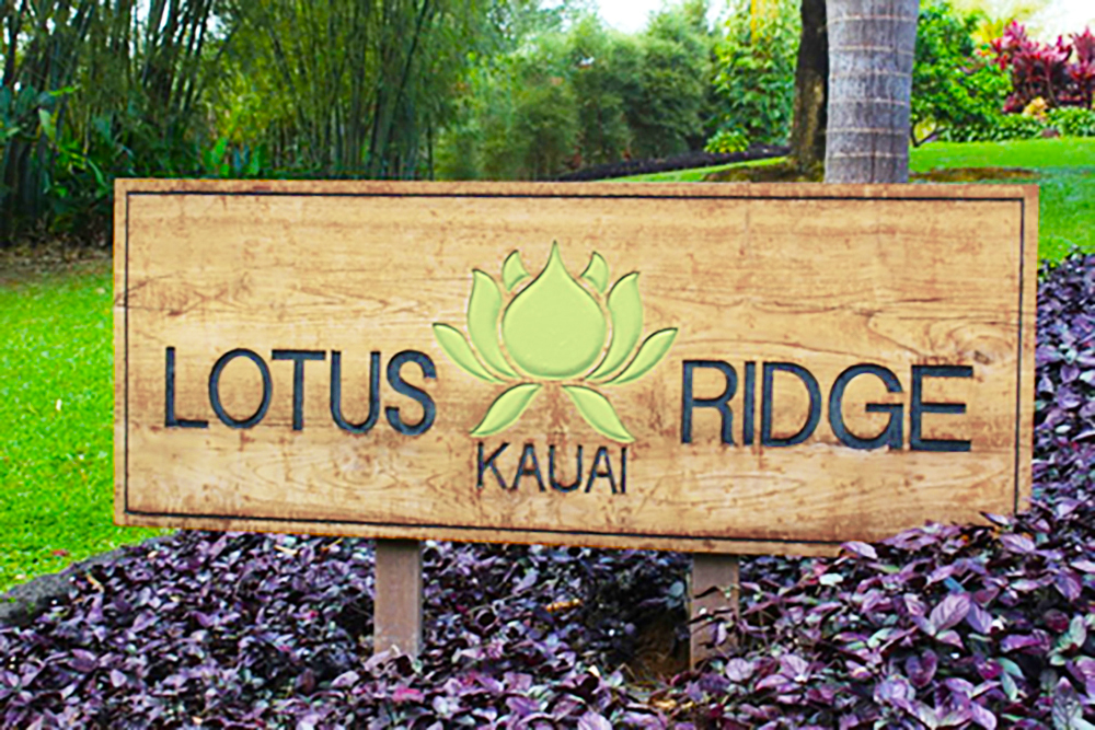 Lotus Ridge Sign