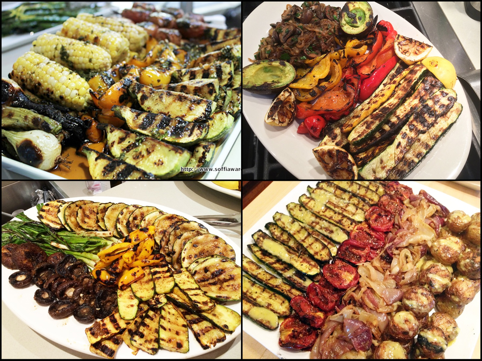 Rustic Grilled Veggies-C4