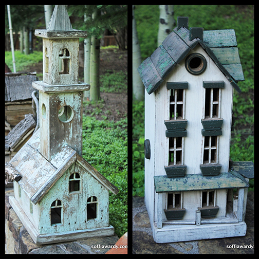 Birdhouse Collage 8