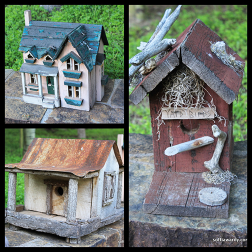 Birdhouse Collage 9