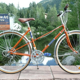 Re-Cycle Art: Hancrafted Vintage Bikes