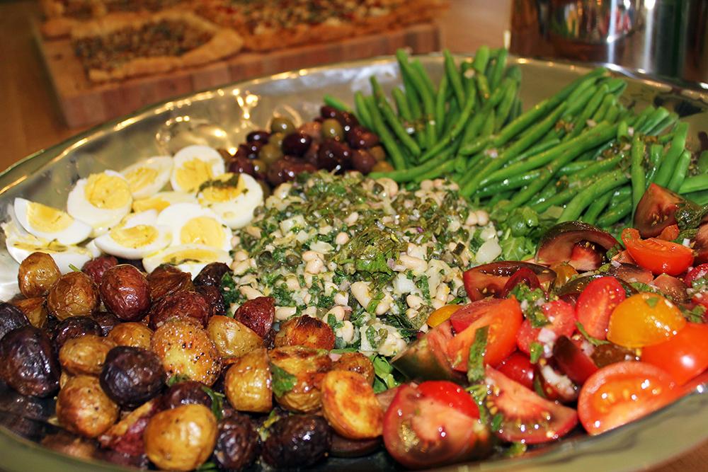 Vegetarian Nicoise