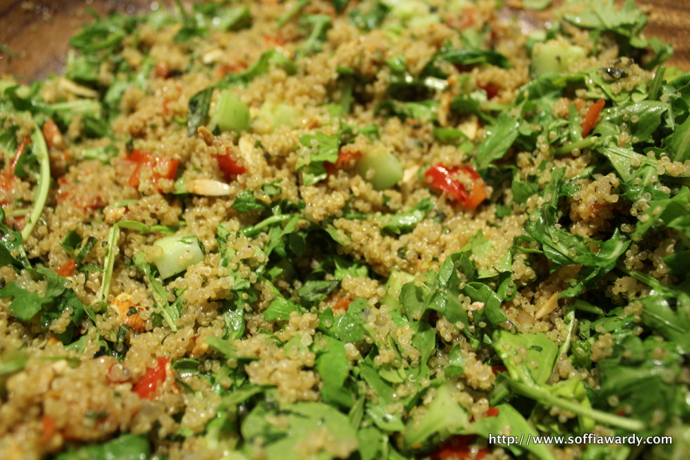 Crunchy Quinoa-finished