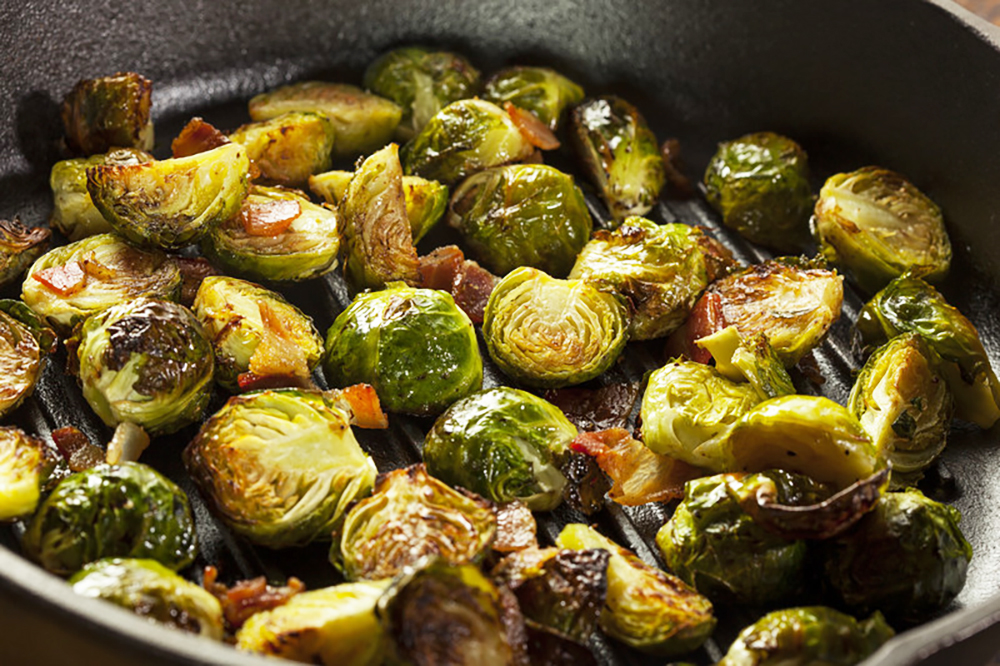 Brussel Sprouts-crispy