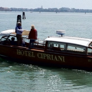 Venice-Lunch at Hotel Cipriani