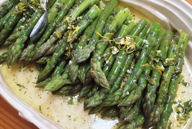 Citrus Asparagus-finished close
