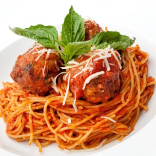 Grandma Maronis Meatballs and Sauce