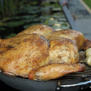 Apple-Sage Flat Iron Grilled Turkey
