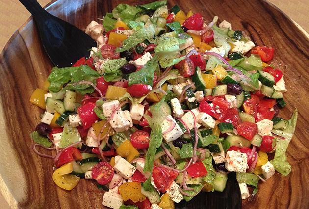 Greek Salad-bowl