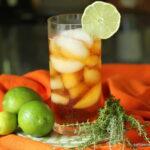 Thyme Lime Ice Tea slider