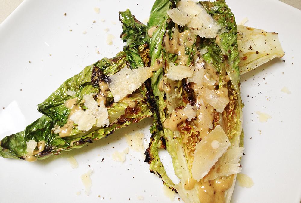 Grilled Caesar Salad | Soffia Wardy