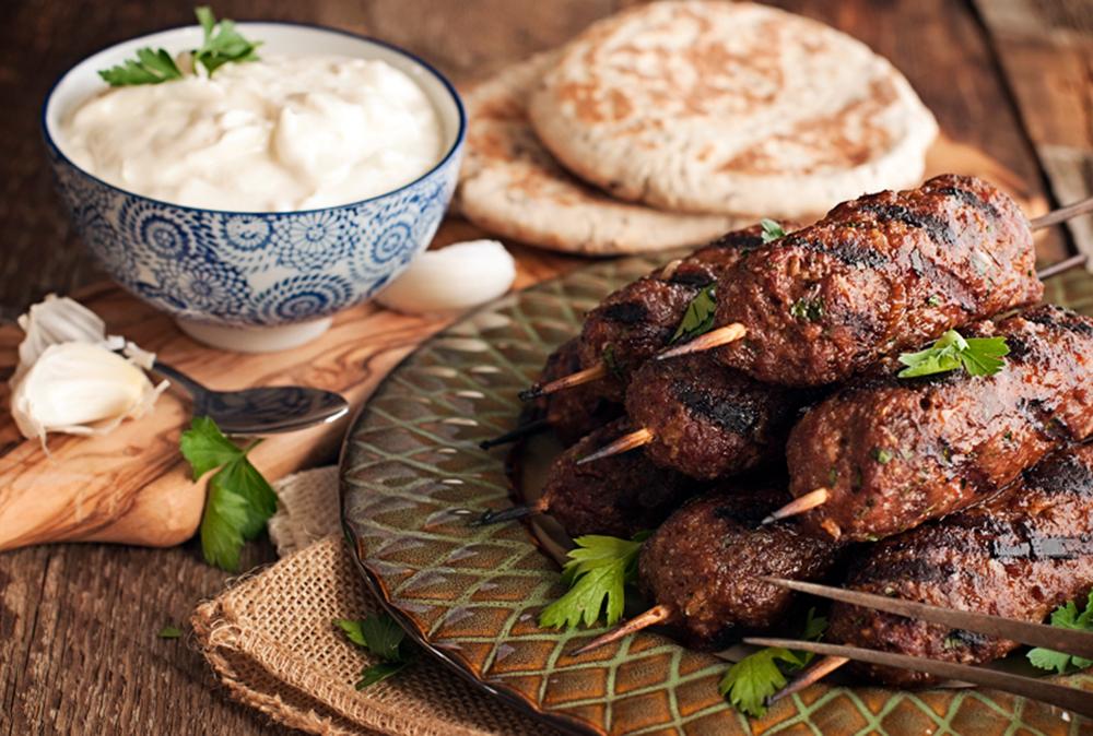 Kafta beef or lamb kabobs soffia wardy for Cuisine libanaise