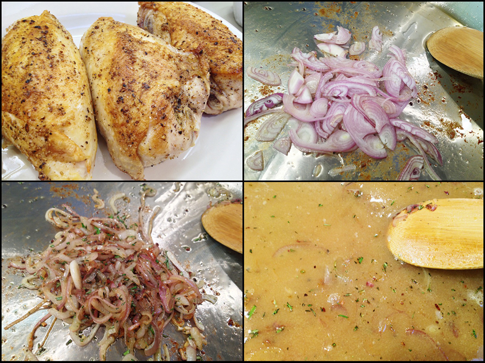 Chicken a la Vendemmia Collage 4
