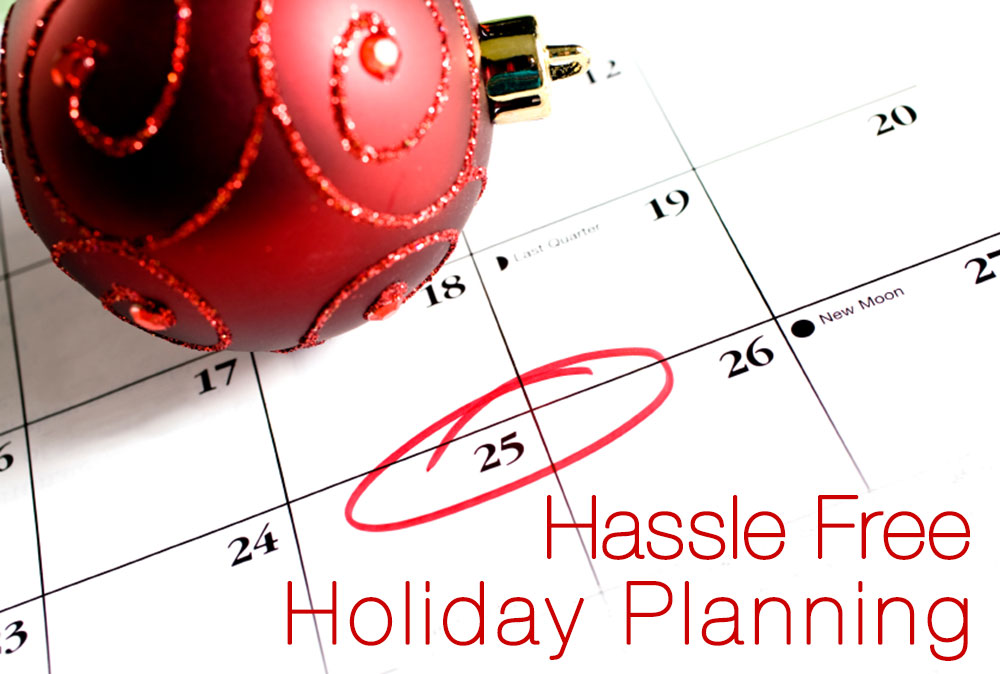 Holiday Planning-Calander