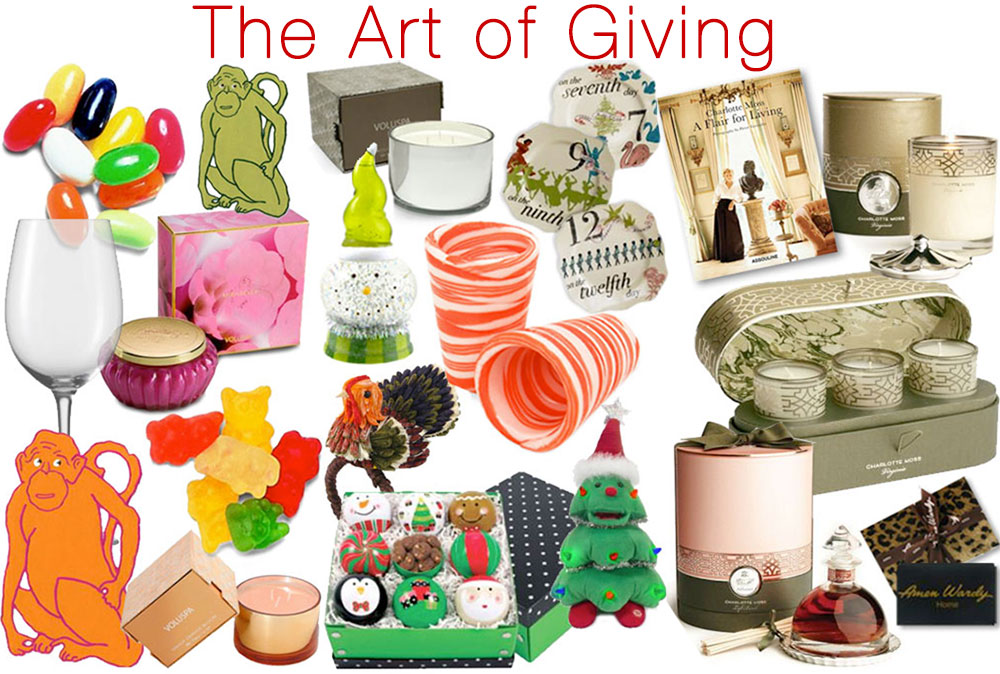 Holiday Planning-The Art of Giving