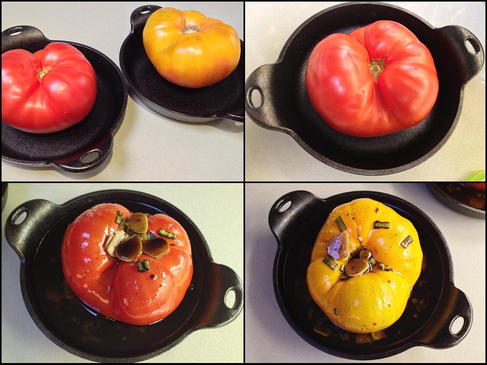 Whole Tomato Bruschetta-Collage 2