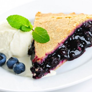 Blueberry Lemon-Butter Crust Pie
