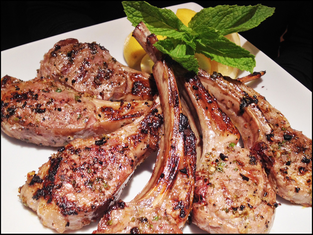Lemony Greek Lambchops | Easter