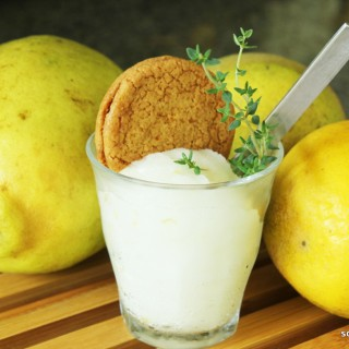 Meyer Lemon-Thyme Sorbetto