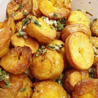 Thyme Roasted Za'atar Potatoes