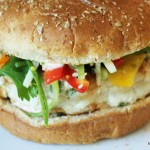 Chinese Chicken Burger-slider