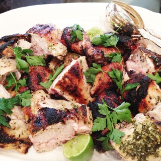 Cilantro Mint Roasted Chicken