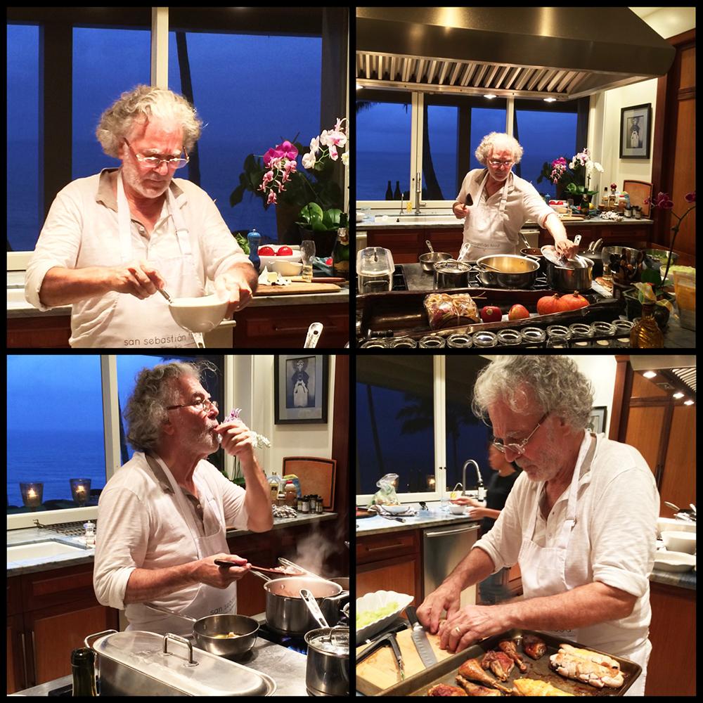 Chef George Mavro-Cooking