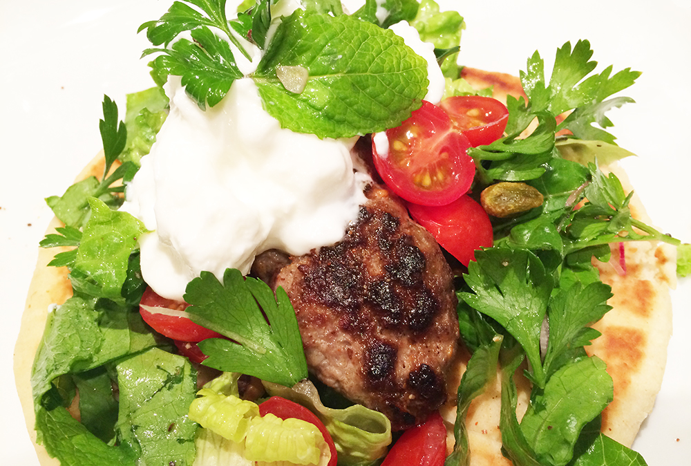Lamb Pistachios Kafta-Kebab Wraps | Soffia Wardy