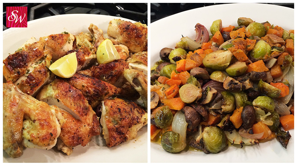 Roasted Chicken with Winter Vegetables