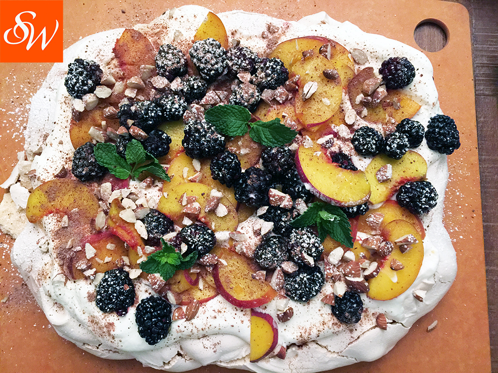 Peach-Blackberry Pavlova-slider