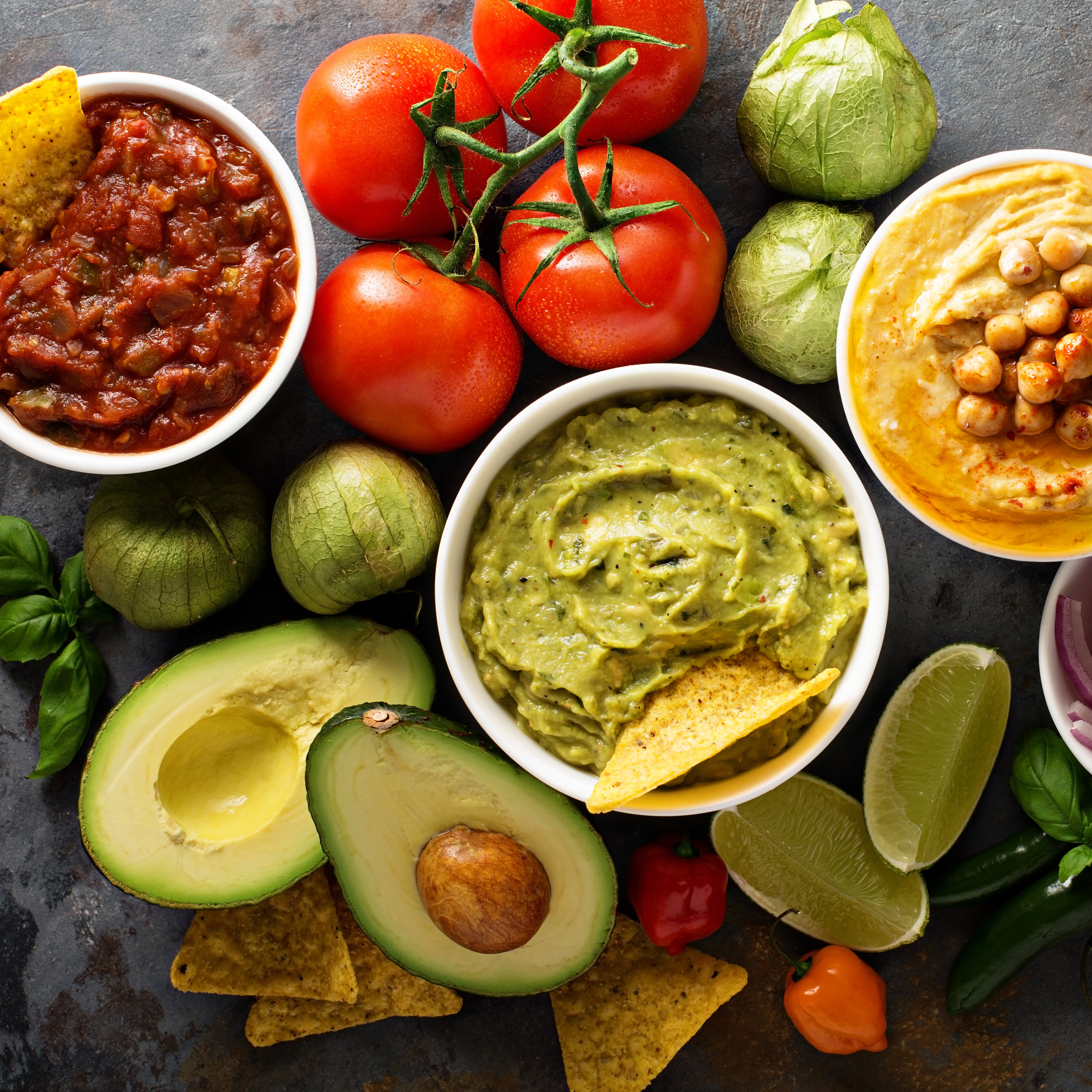 Sauces, Spreads & Dips