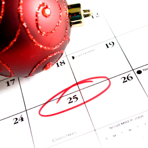 Holiday Planning-December-Calander-plain